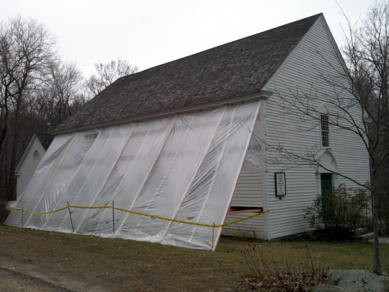 Church Snow / Ice Damage and Repair