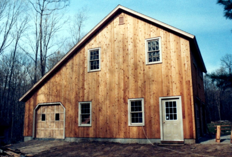 New Barn Construction - Killingworth, Connecticut